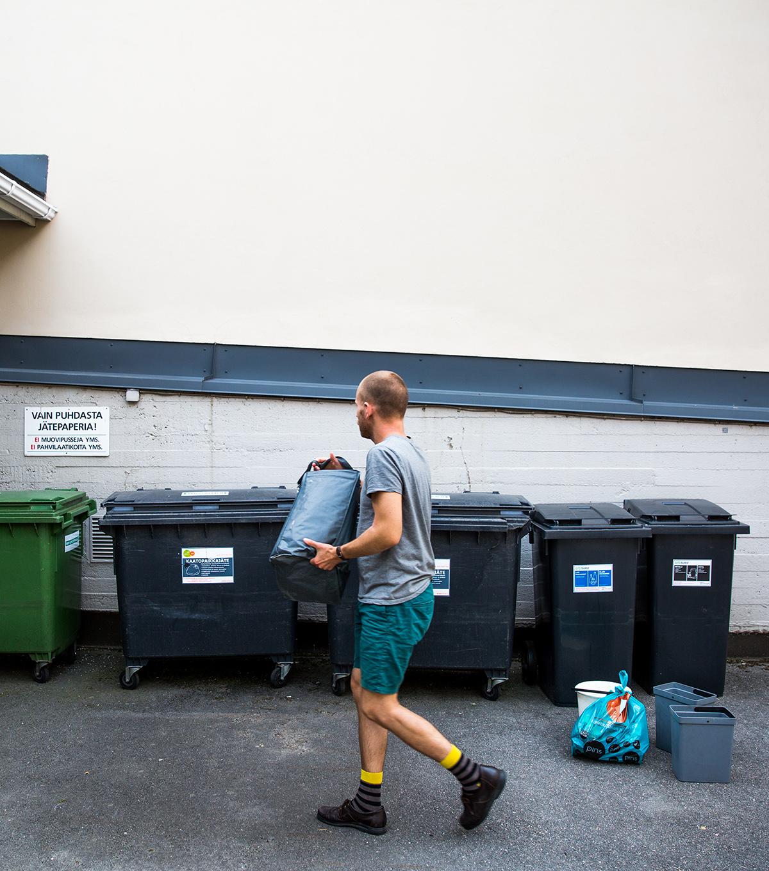 Jätteiden keräys